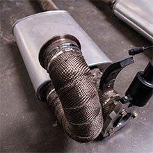 Exhaust and Header Heat Wrap