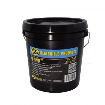 Spray on sound insulation