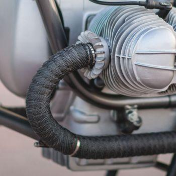 Carbon Fiber Exhaust Wrap