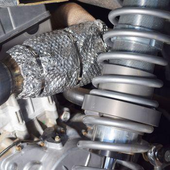Rzr UTV Exhaust Heat Shield