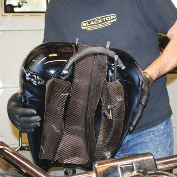 Lava Heat Shield Fuel Tank