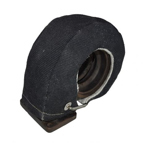 Black Turbo Heat Shield