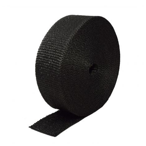 Black Motorcycle Exhaust wrap