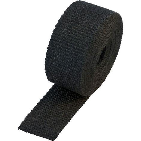 Black diesel exhaust wrap