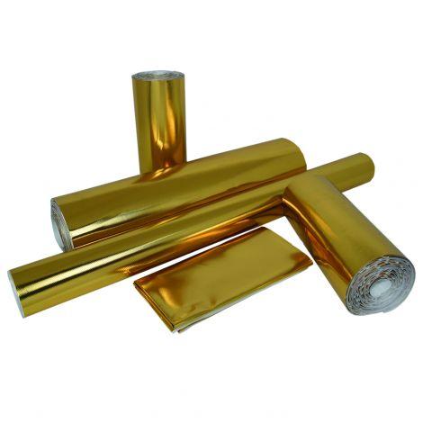 Gold Heat Shield Barrier