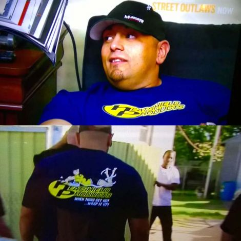 #RaceTested T-shirt and Big Chief Street Outlaws